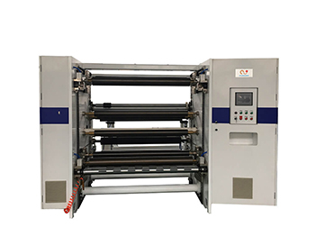 JT-SLT-1300C Automatic Paper Film Slitting Rewinding Machine