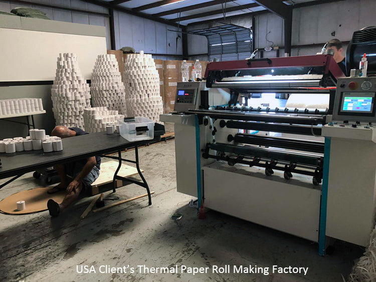USA-client-thermal-paper-roll-making-factory