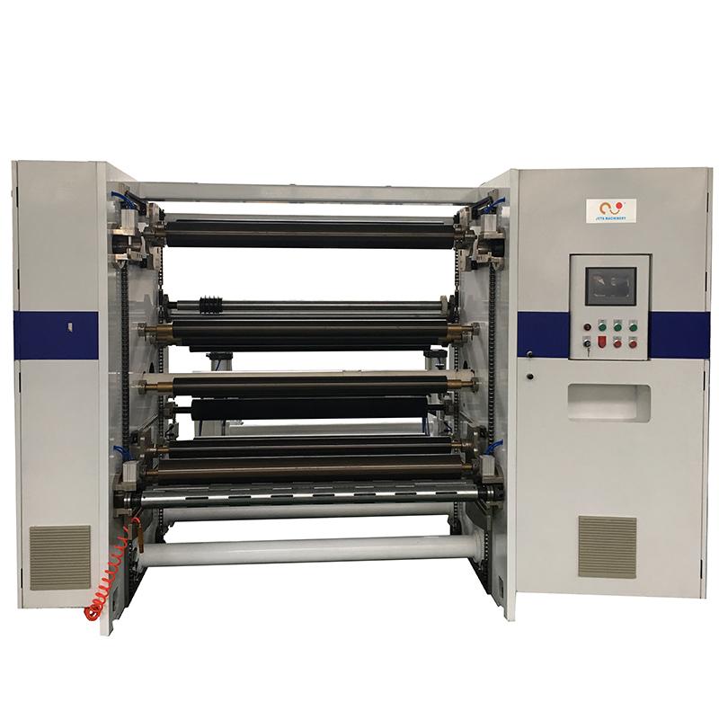 JT-SLT-1300C Automatic Paper Film Slitting Rewinding Machine