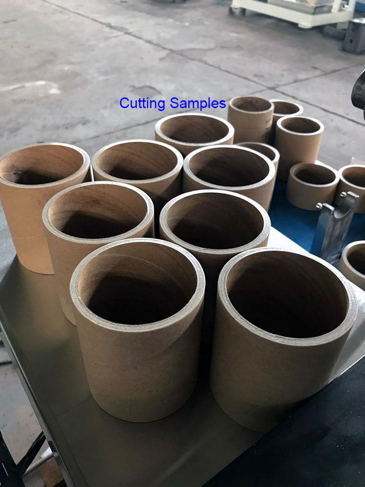 JT-1500C-Single-Blade-Paper-Core-Cutter-Cutting-Samples
