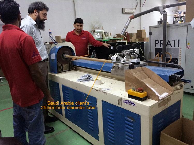 JT-1500C-Single-Blade-Paper-Core-Cutter-Saudi-Arabia-Client